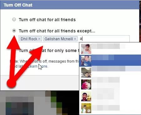 how to show offline on facebook 2017