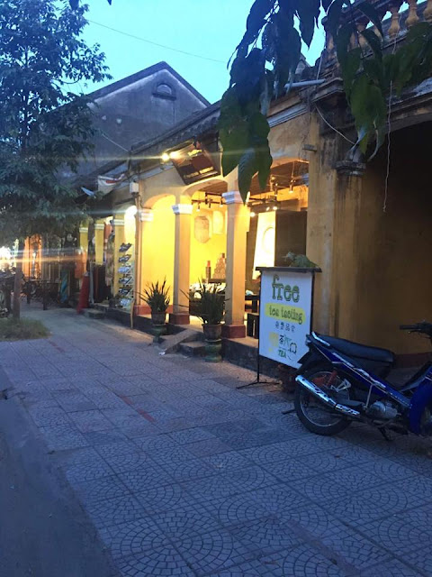 Mặt trước nhà đường Phân Bội Châu