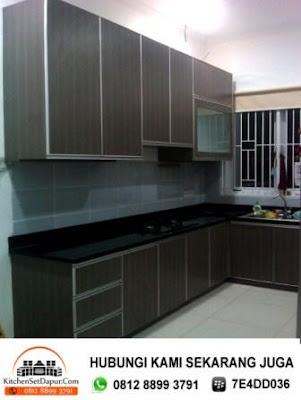 Tukang kitchen set serpong call 0812 8899 3791 desain for Tukang kitchen set