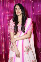 Adaa Sharma in White Pink Saree at Zee Telugu Apsara Awards 2017 30.JPG