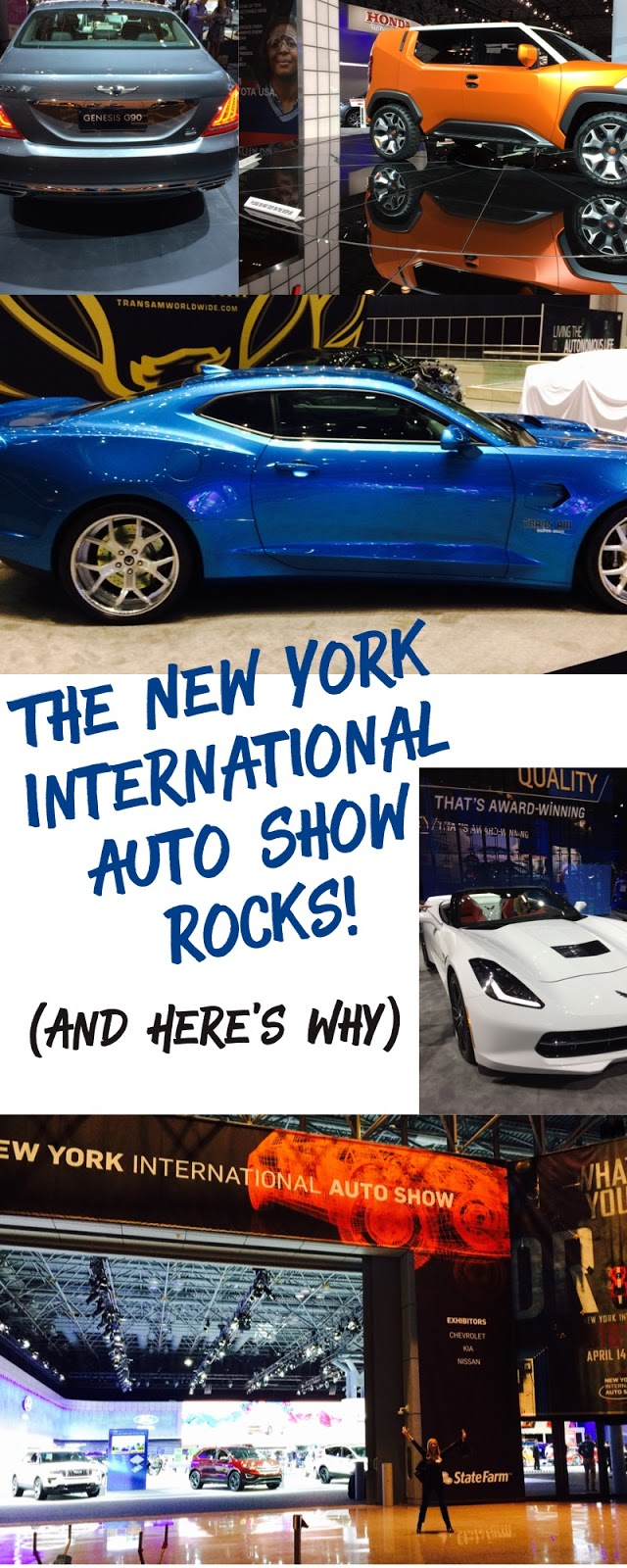 The Jersey Momma The New York International Auto Show Rocks And - Show me my car