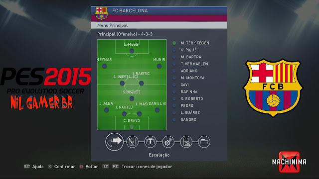 Terbaik PES 2016 Ala Barcelona Team Work
