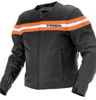 Gambar Jaket Kulit Motor Vespa