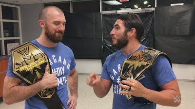 WWE NXT Championship DIY Match Spoilers
