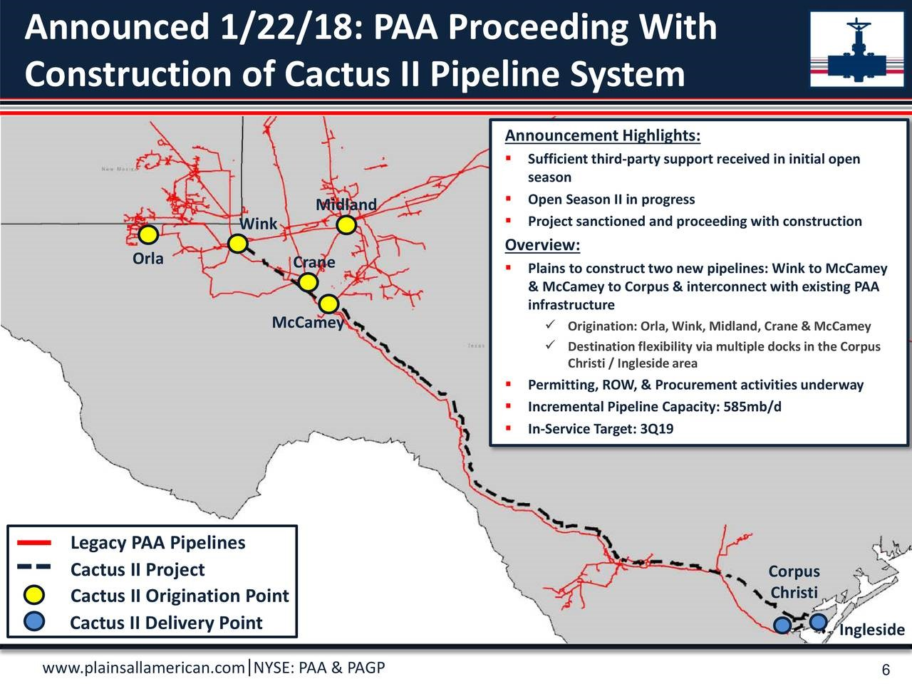plains all american pipeline company has been denied a request for an exemption from steel import tariffs this will hit plans to build much needed takeaway