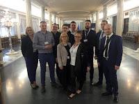 Członkowie Polskiego Towarzystwa Psychopedagogicznego podczas Międzynarodowej Konferencji o Prawach Człowiek