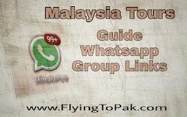Travel & Tourist Whatsapp Group Link | FlyingToPak