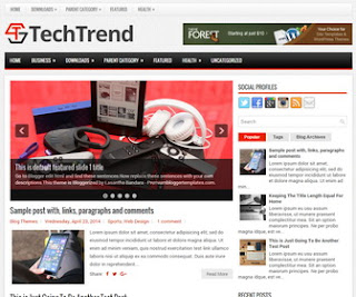 TechTrend Blogger Templates price in nigeria