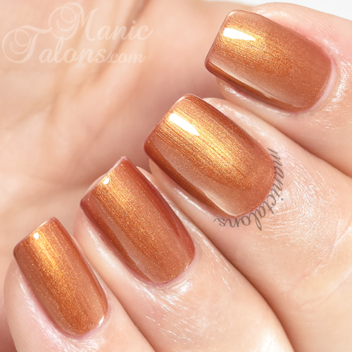 Madam Glam Gel Polish Shells Swatch