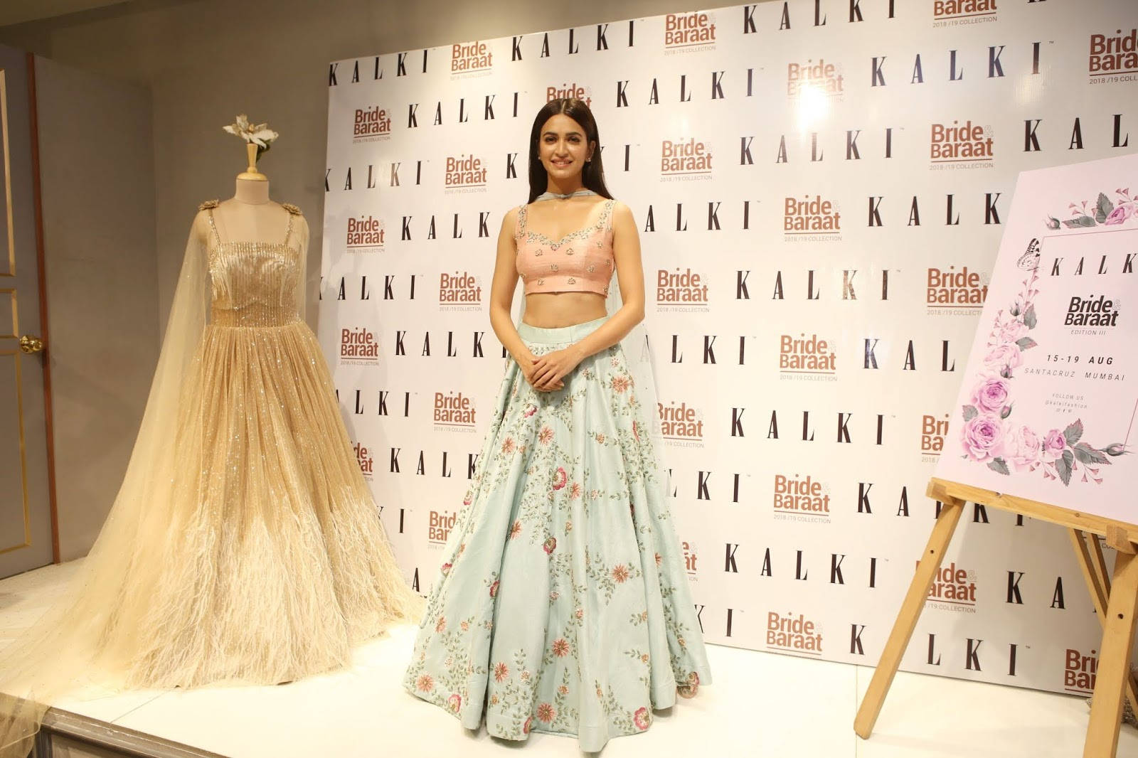 Kriti Kharbanda At Bride & Baraat Collection Launch At Kalki Store in Santacruz Event Photos ❤