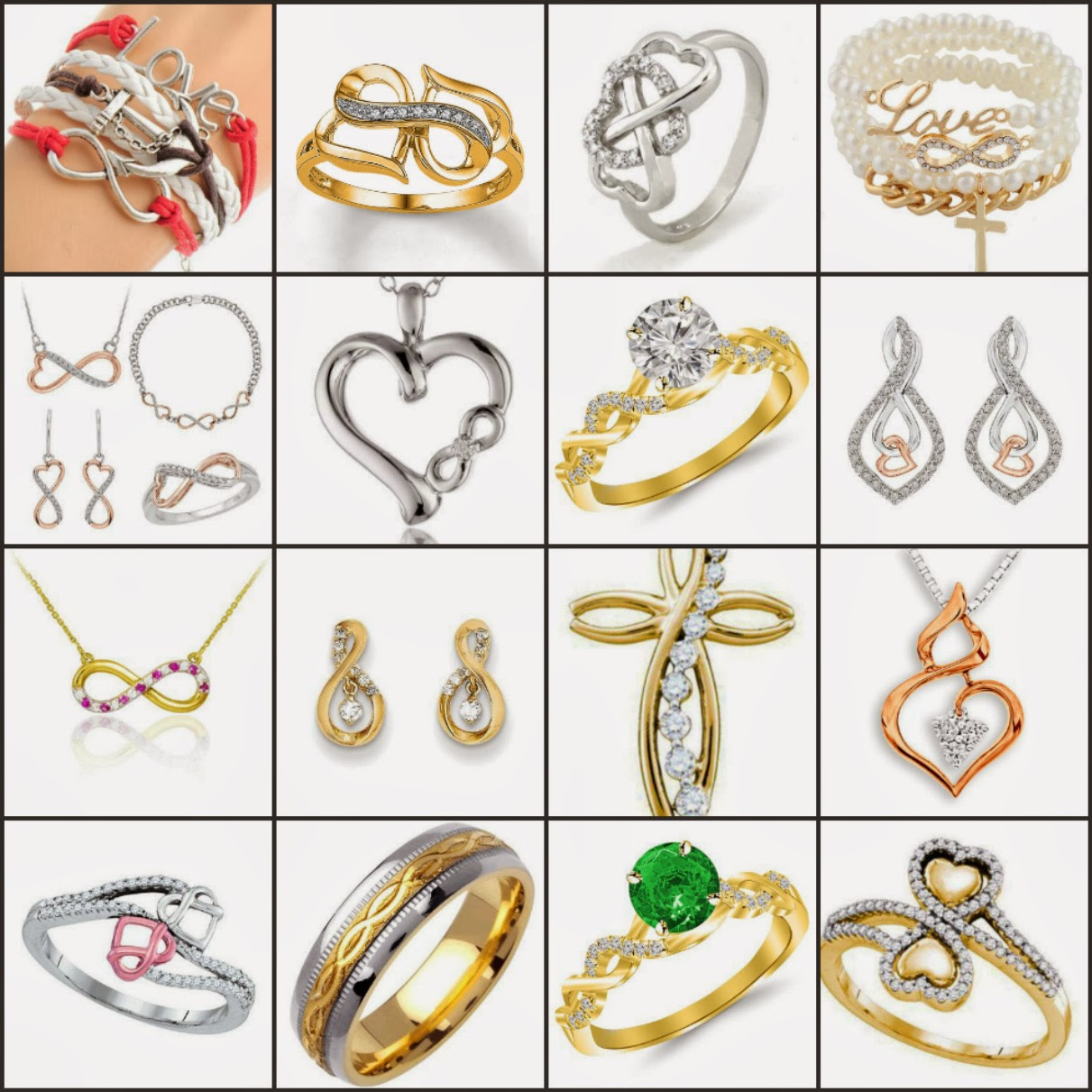 Infinity Jewelry - The timeless symbol
