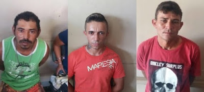 Três suspeitos são presos após PM fechar boca de fumo em Barra de Santa Rosa