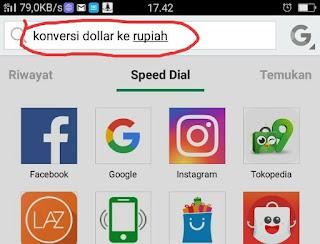 Cara Cek Nilai Kurs Dollar ke Rupiah Lewat Android