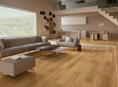 Laminate flooring for living room