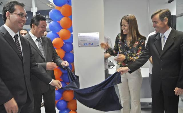 Formosa: Inaugurada agência da Caixa no município