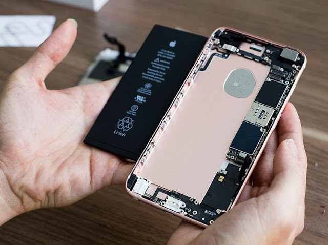 Thay thế pin cho iPhone 6s Plus