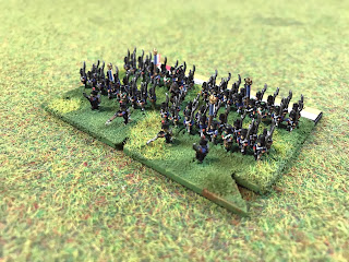 6mm figures by Baccus of Napoleon's army in 1815