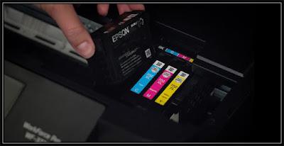 Epson WF 3720 Replacing Ink Cartridges