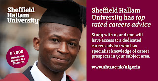 Start Your Masters With Sheffield Hallam University In January 2018 And Get ?3,000 Automatic Fee Discount