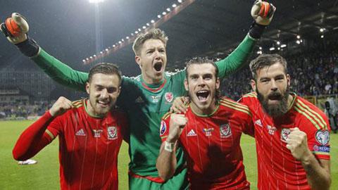 Bỉ vs Xứ Wales: Tập thể đúng nghĩa