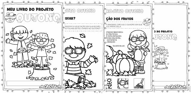 Livrinho Projeto Outono Educação Infantil