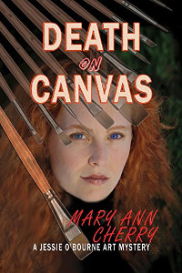 Death on Canvas (The Jessie and Jack Art Mystery Series Book 1) by Mary Ann Cherry