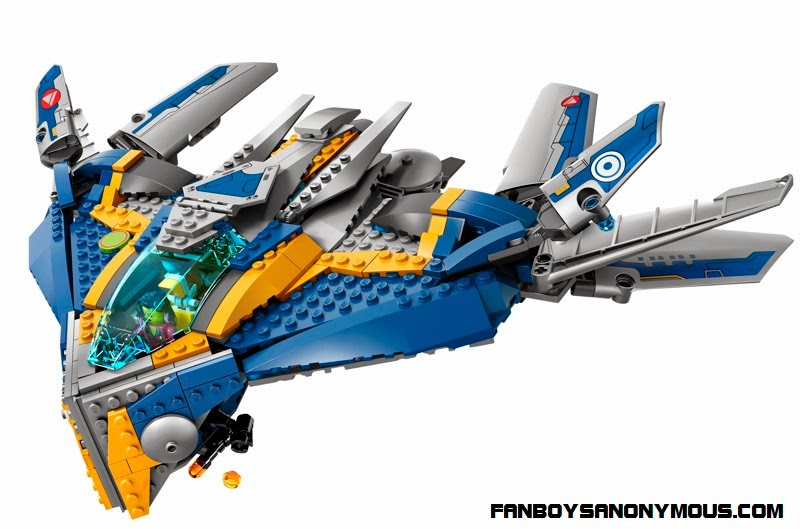 Guardians of the Galaxy's Star-Lord (Chris Pratt) Milano Spaceship LEGO collectible