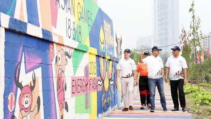 Foto-Foto Mural Asian Games 2018 Di Jakarta dan Palembang - 5