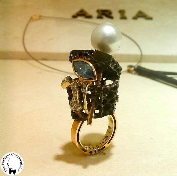 Mostra Gioielli d'artista Firenze - Stefano Alinari - Cosmo, anello, 2006