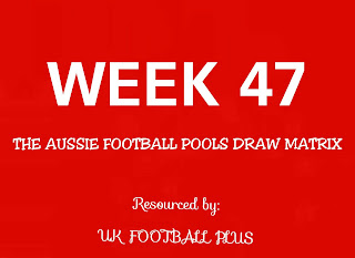Football pools fixtures wk47