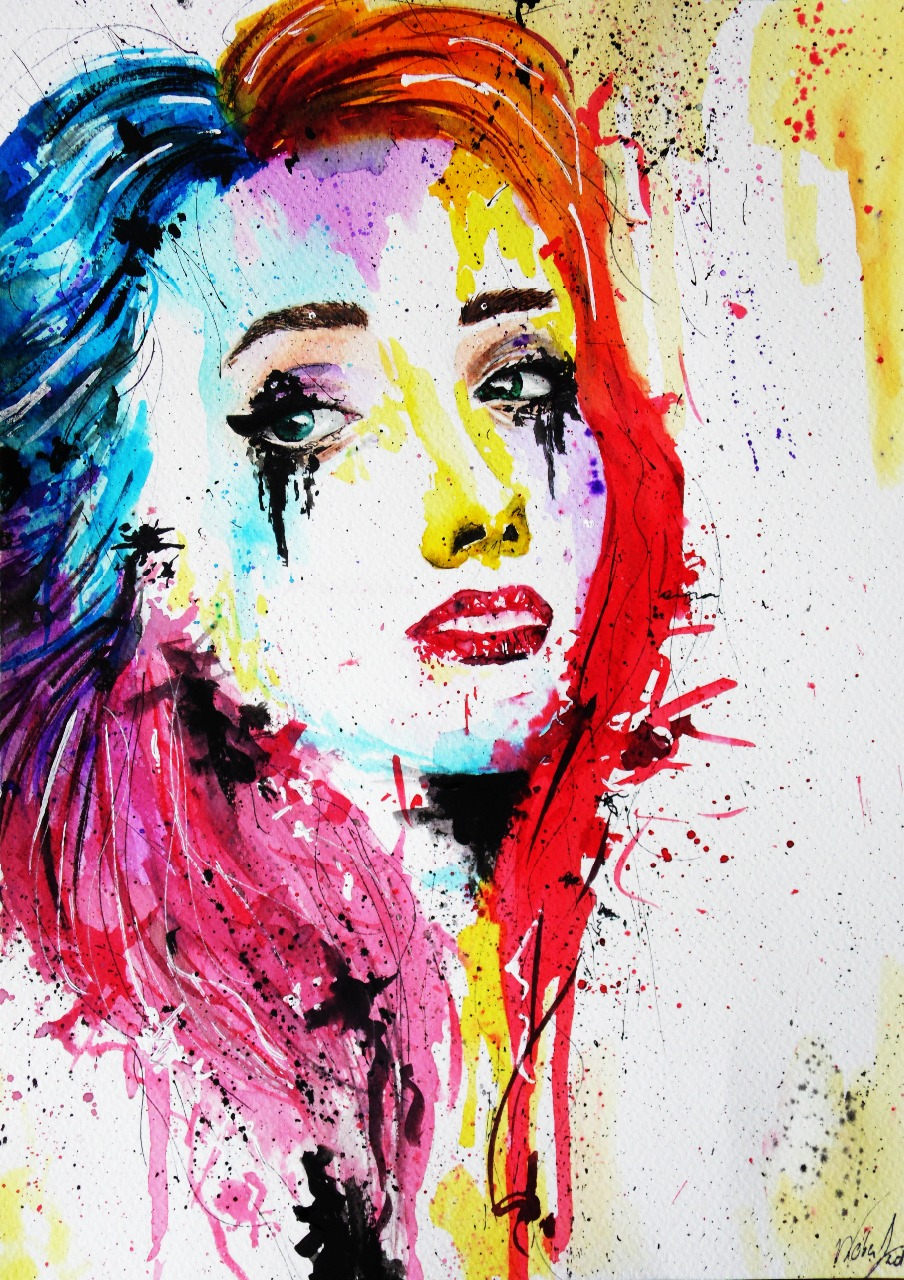 09-Andrea-Wéber-aka-Mandy-Candy-Paintings-A-Mirror-to-the-Artist-s-Emotions-www-designstack-co