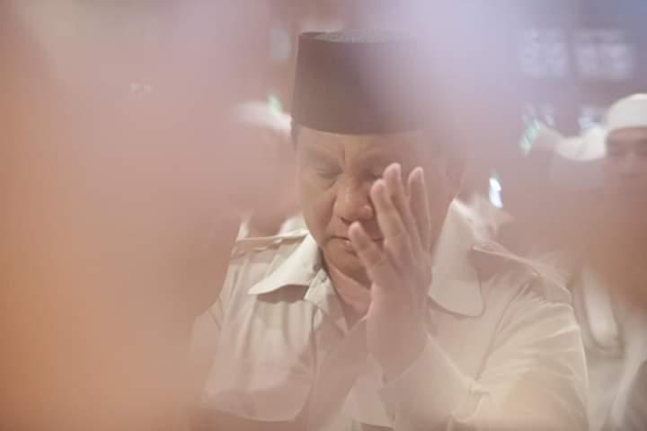 Sehari Jelang Coblosan, Isu Negatif Soal Keislaman Prabowo Runtuh