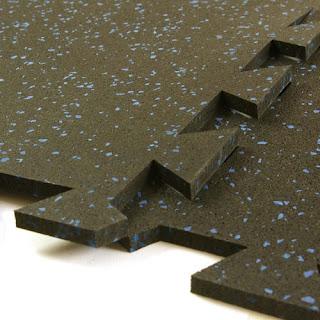 Greatmats Geneva Interlocking Rubber Tile 3/8 Inch