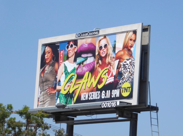 Claws series launch billboard