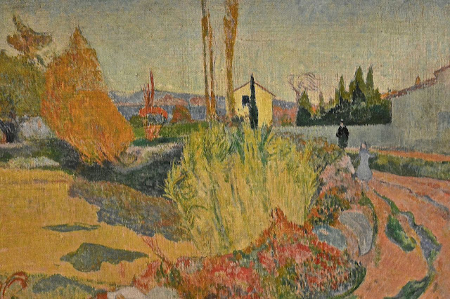 Stockholm : nationalmuseum  Paul Gauguin (1848_1903) : Paysage d'Arles (1888)