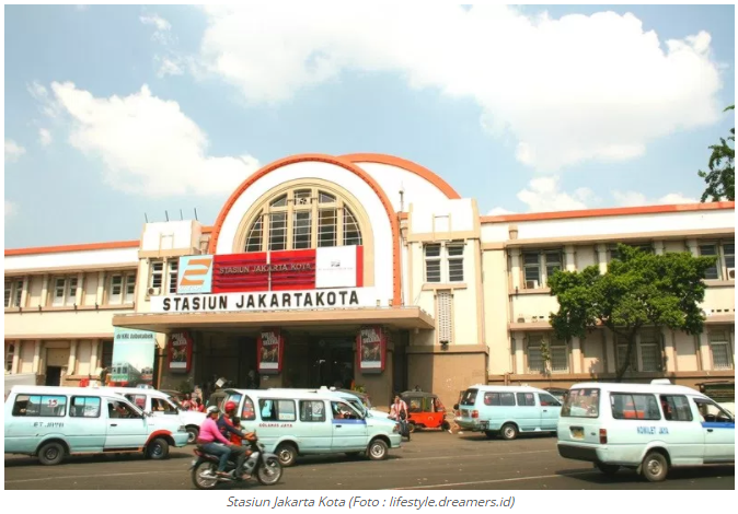 Stasiun Kereta Api Jakarta Kota