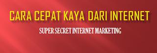 cara cepat kaya dari internet