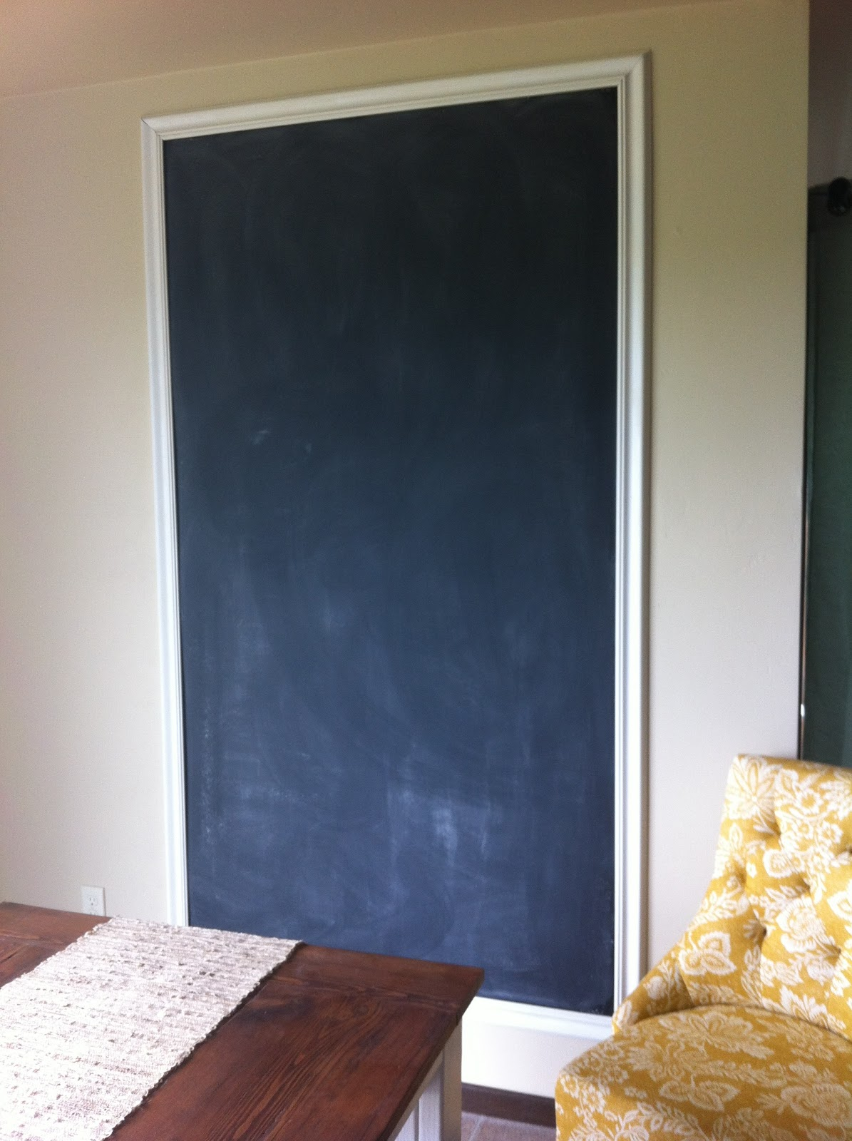 Life More Lovely A Diy Chalkboard Wall