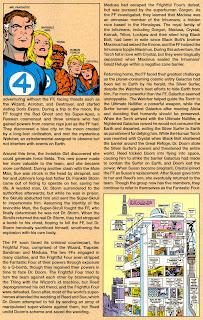 Cuatro Fantasticos Marvel