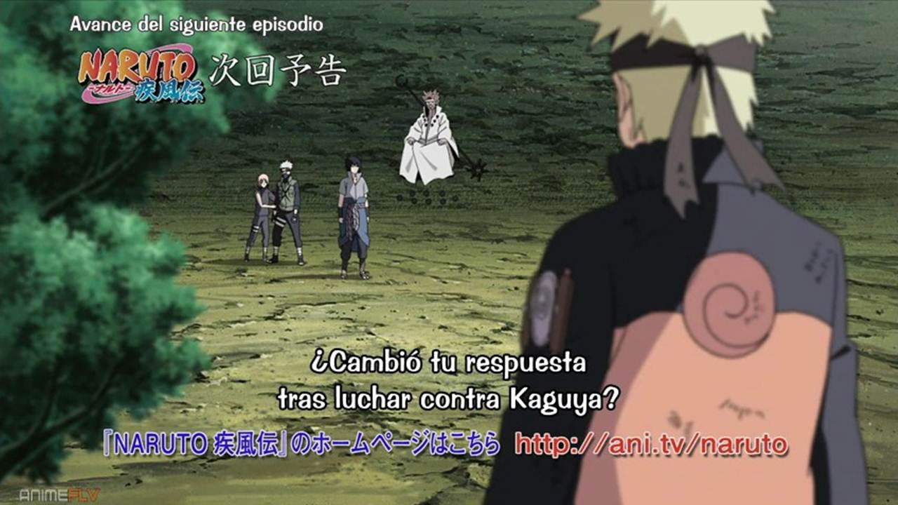 Naruto Shippuden cap 475 Sub Español
