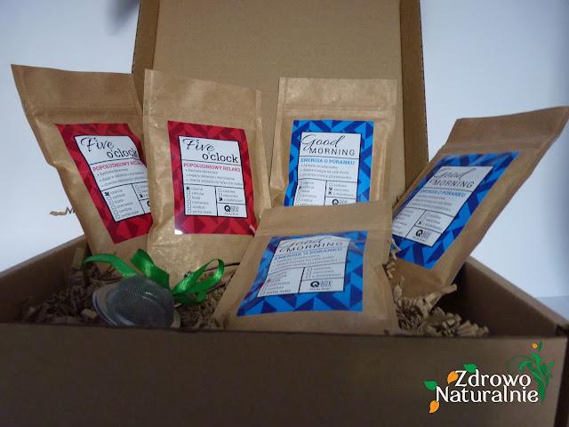 Qbox - Poznaj z nami nowe smaki herbat