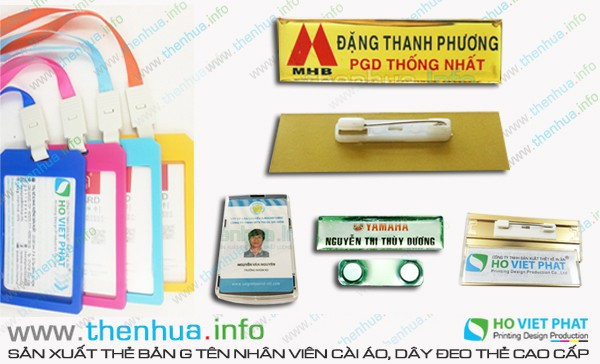 In thẻ nhựa khách hàng dập nổi số Seri nhũ vàng cao cấp
