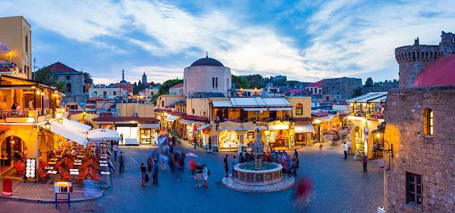 Restaurantes em Rodes, Grécia