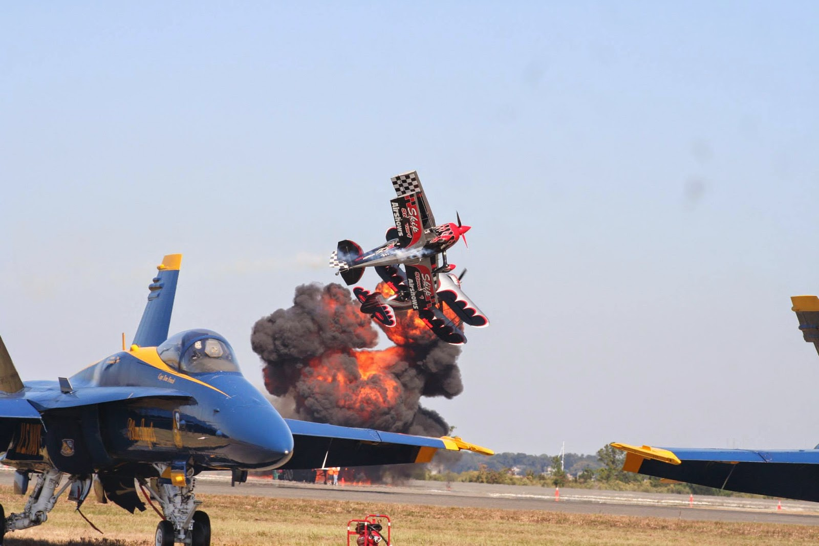 The Immortals air show