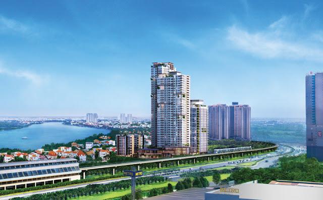 Căn hộ quận 2 dự án cao cấp hướng đến không gian sống xanh