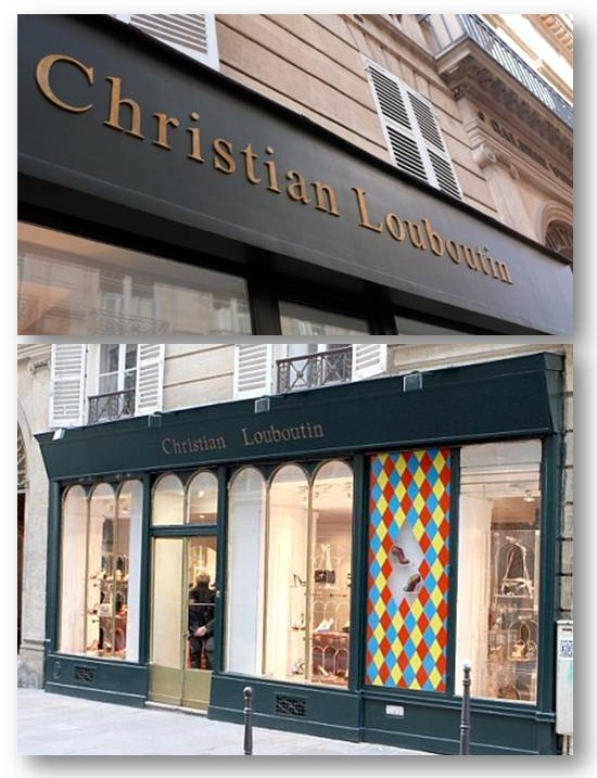 louboutin store paris france