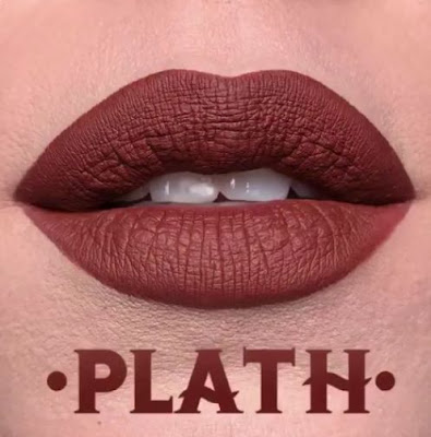 kat von d Everlasting Liquid Lipstick lip swatch plath