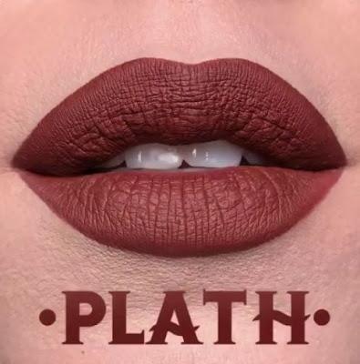 kat von d Everlasting Liquid Lipstick lip swatch plath