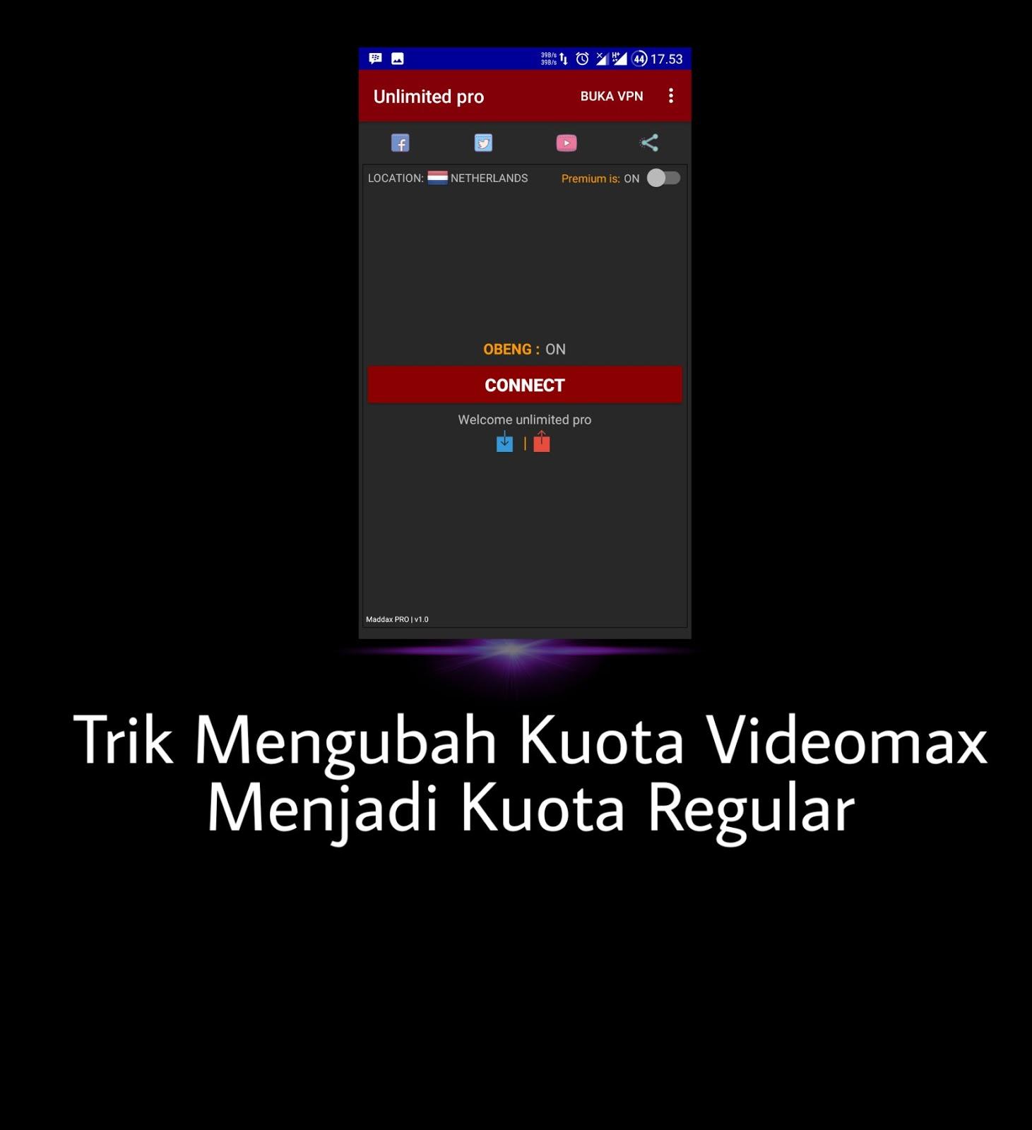 Cara Mengubah Kuota Videomax Telkomsel Menjadi Kuota Regular 24 Jam