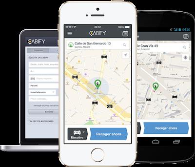 app cabify en iphone